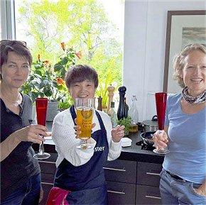 Genuss beim Home-Tuition-Sprachkurs Deutsch und Kochen