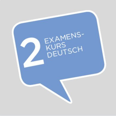 Examen Vorbereitungskurs Home Tuition Deutsch