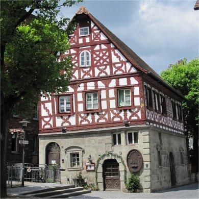 Forchheim, Kammerers Mühle -  Schiefes Haus