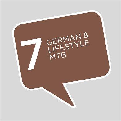 German + MOUNTAIN BIKING
