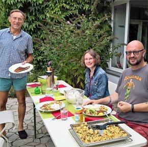Praxis bei den Mahlzeiten im Allgemeinsprachlichen Programm Deutsch Home Tuition