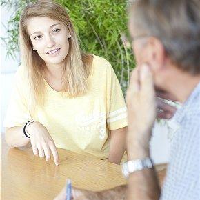 Bewerbungstraining als Einzelunterricht im Programm Deutsch Home Tuition
