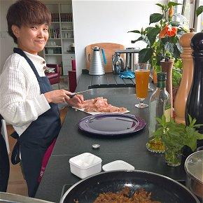 Genuss  im Home Tuition Programm Deutsch + Kochen