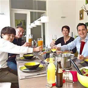 Sprachpraxis im Home Tuition Programm Deutsch + Kochen