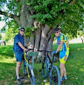 Mountainbike-Touren führen uns in durch die schöne fränkische Landschaft