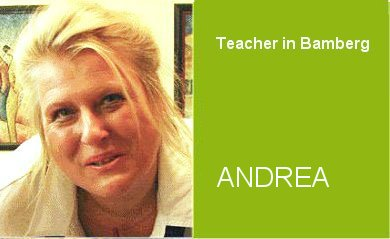 Andrea, Teacher German Home Tuition Program in Bamberg
