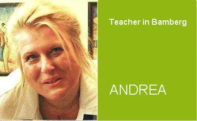 Andrea, Teacher German Home Tuition Program in Bamberg