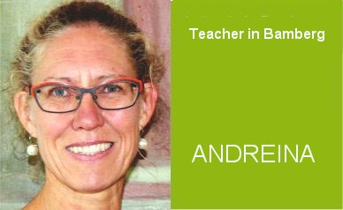 Andreina, Teacher German Home Tuition Program in Bamberg