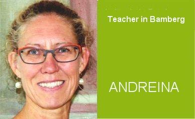 Andreina, Teacher German Home Tuition Program in Bamberg