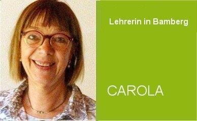 Deutschunterricht im Home Tuition Programm mit Lehrerin Carola