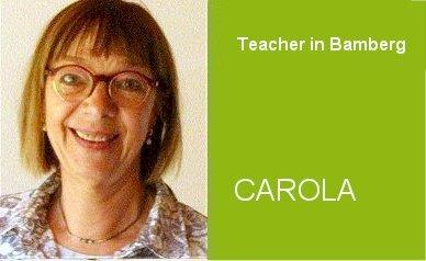 Carola, Teacher German Home Tuition Program in Bamberg