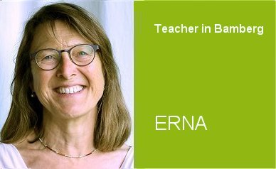 Erna, Teacher German Home Tuition Program in Bamberg