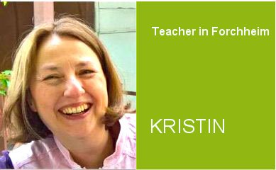 Kristin, Teacher German Home Tuition Program in Forchheim