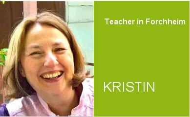 Kristin, Teacher German Home Tuition Program in Forchheim