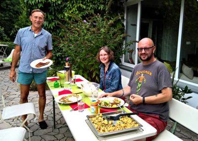 Home Tuition - Konversation auf Deutsch auch während dem Mittagessen
